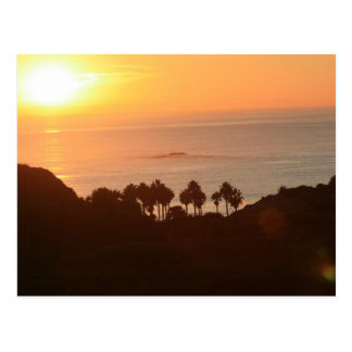 San Clemente Sunset Postcard