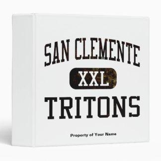 San Clemente Tritons Athletics 3 Ring Binder