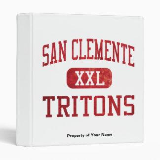 San Clemente Tritons Athletics Binder