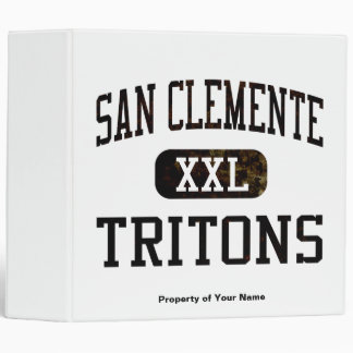 San Clemente Tritons Athletics Binder