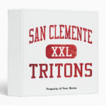 San Clemente Tritons Athletics Binders