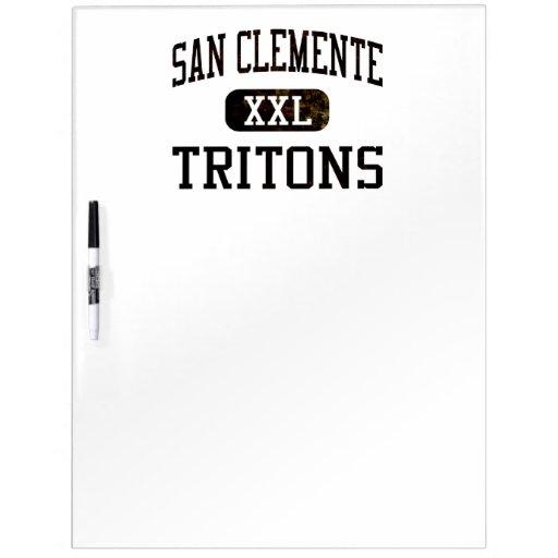 San Clemente Tritons Athletics Dry Erase Boards