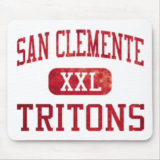 San Clemente Tritons Athletics Mouse Pad
