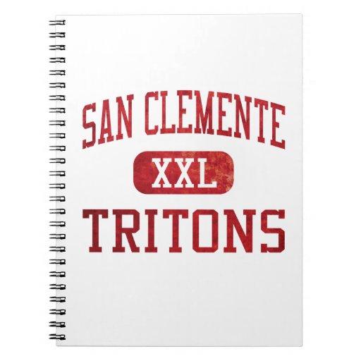 San Clemente Tritons Athletics Note Books