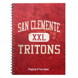 San Clemente Tritons Athletics Notebook