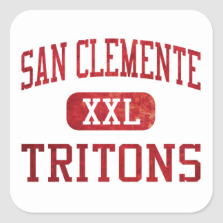 San Clemente Tritons Athletics Stickers