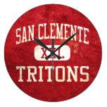 San Clemente Tritons Athletics Wall Clocks