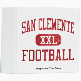 San Clemente Tritons Football 3 Ring Binder