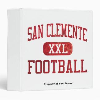 San Clemente Tritons Football 3 Ring Binder