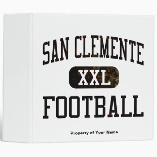San Clemente Tritons Football Binder