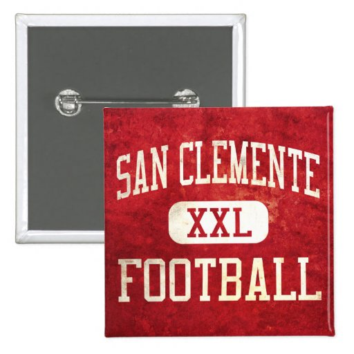 San Clemente Tritons Football Button