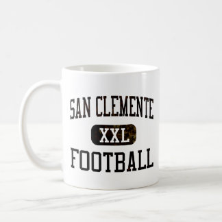 San Clemente Tritons Football Coffee Mug