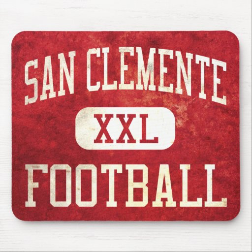 San Clemente Tritons Football Mouse Pads