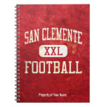 San Clemente Tritons Football Note Books