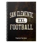 San Clemente Tritons Football Spiral Note Books