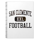 San Clemente Tritons Football Spiral Notebooks