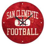 San Clemente Tritons Football Wall Clocks