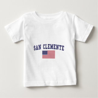 San Clemente US Flag Baby T-Shirt