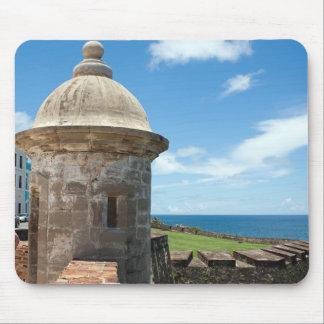 San Cristobal Fort Tower Mouse Pad