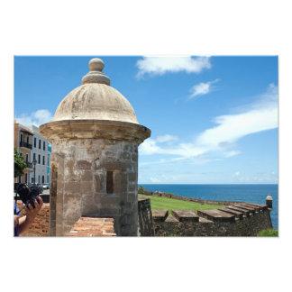 San Cristobal Fort Tower Photo Print