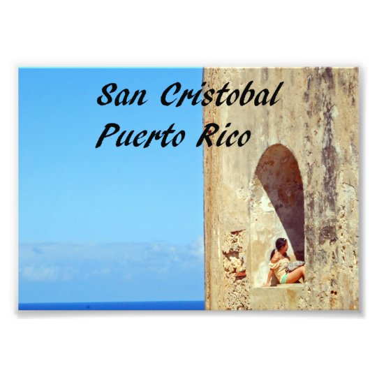 San Cristobal Puerto Rico Photo Print