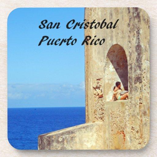 San Cristobal Puerto Rico Posavasos De Bebidas