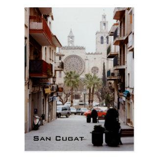 San Cugat Tarjeta Postal
