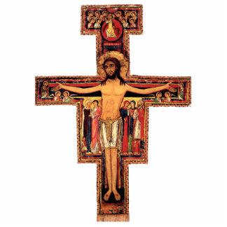 San Damiano Crucifix Pin Photo Cut Outs