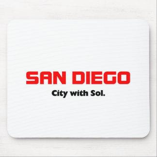 San deigo, California Mouse Pad