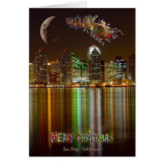 San Deigo Christmas Greeting Card