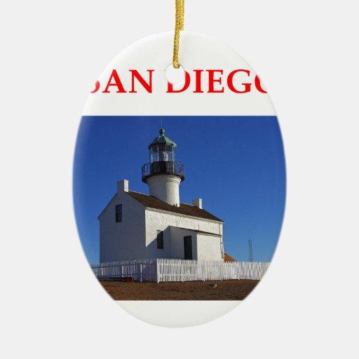 San Diego Adornos