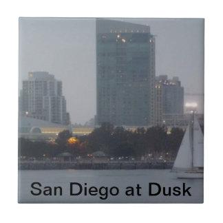 San Diego at Dusk tile