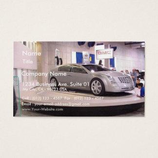 San Diego Autoshow Business Card