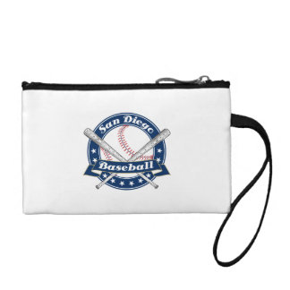 San Diego Baseball Logo Change Purse