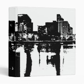 San Diego Bay Vinyl Binder
