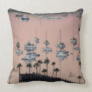 San Diego Bay Decorative Pillow