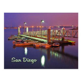 San Diego Bay Pier Postcards