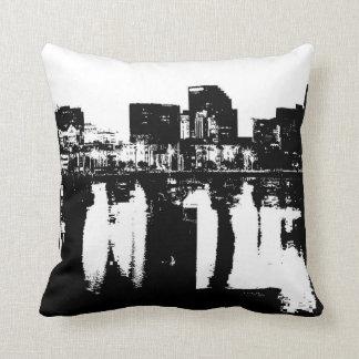 San Diego Bay Throw Pillows