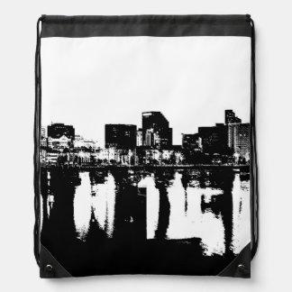 San Diego Bay Drawstring Bag