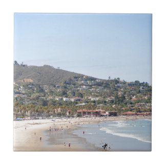 San Diego beach Ceramic Tile