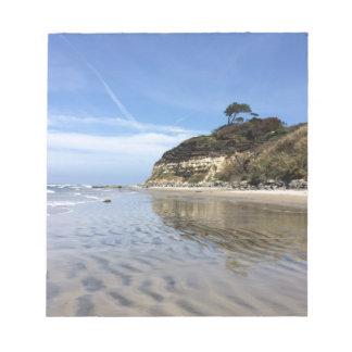 San Diego beach Note Pad