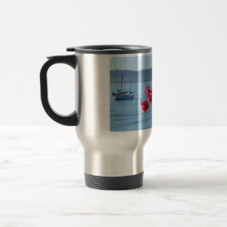 san diego beach travel mug