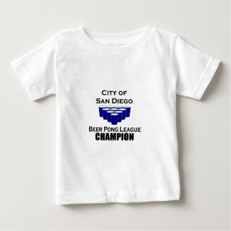 San Diego Beer Pong Champion Baby T-Shirt