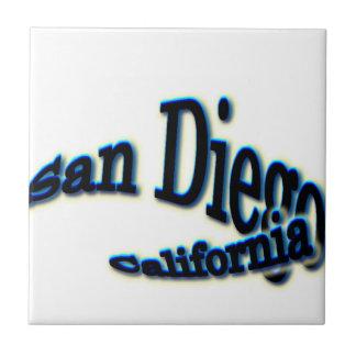 San Diego Blue Wave Ceramic Tile