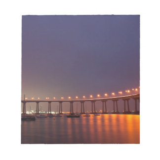 San Diego bridge Notepad