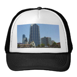 San Diego Buildings High Rise Skyline Trucker Hat