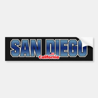 San Diego Bumper Bumper Sticker