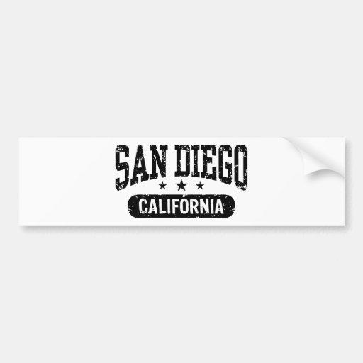 San Diego Bumper Stickers