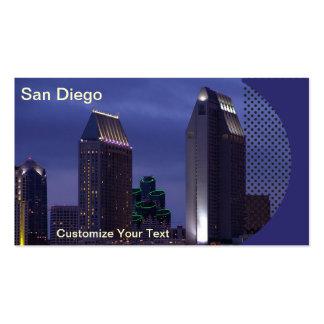 San Diego Business Card Photo