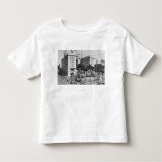 San Diego, CA City View of US Grant Hotel Toddler T-shirt